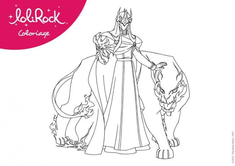 Coloriages gramorr lolirock