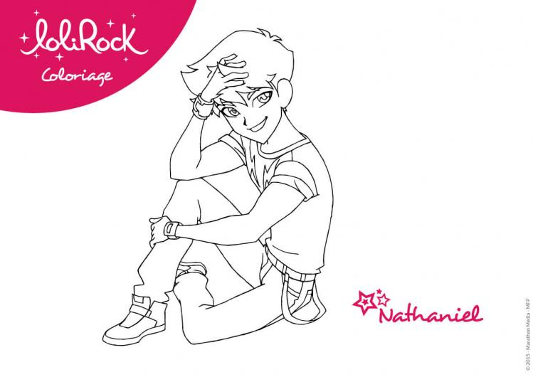 Coloriages nathaniel lolirock