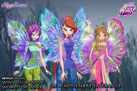 Dreamix world of winx